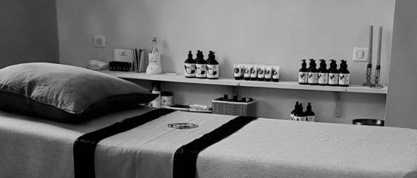 illustration table de massage