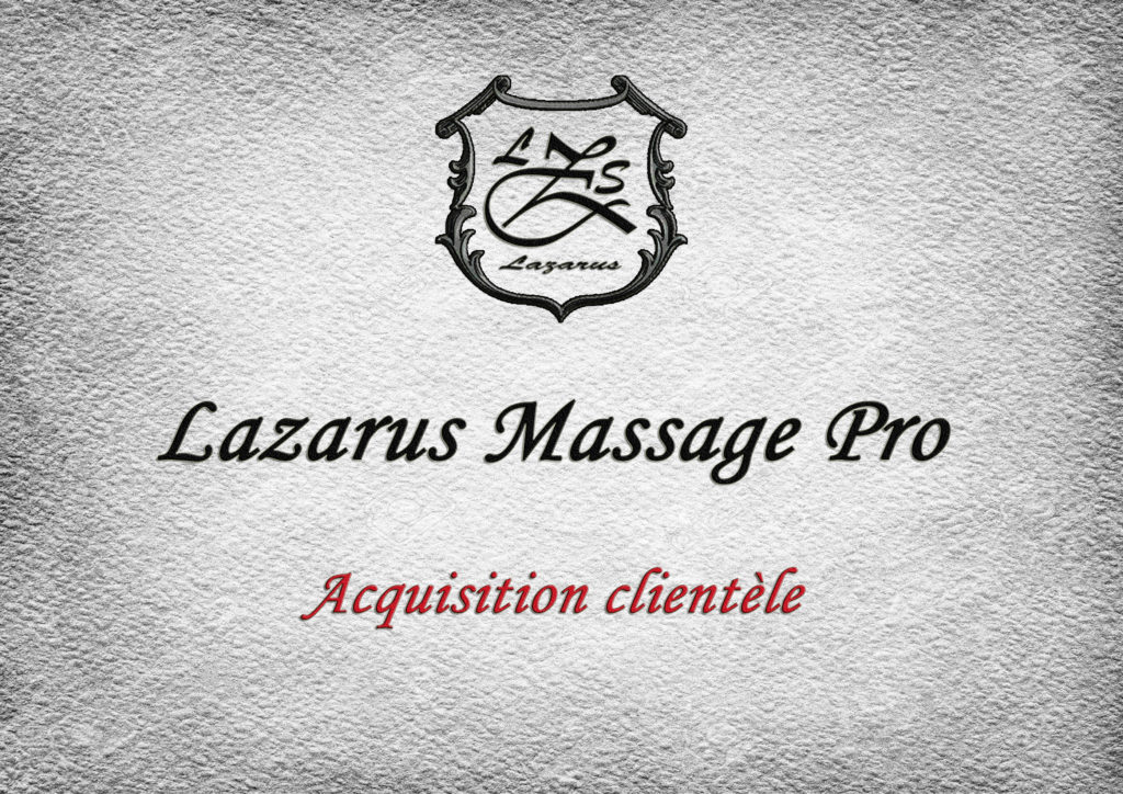 avoir des clients dans le massage