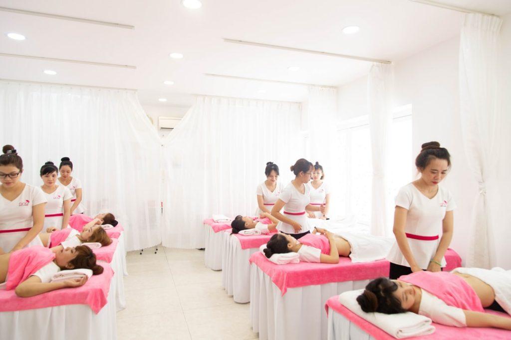 créer atelier de massage