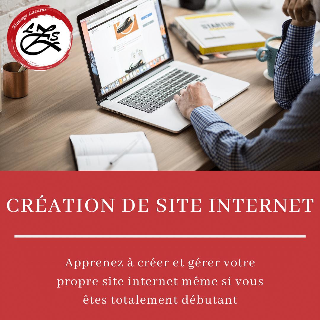 formation création de site internet