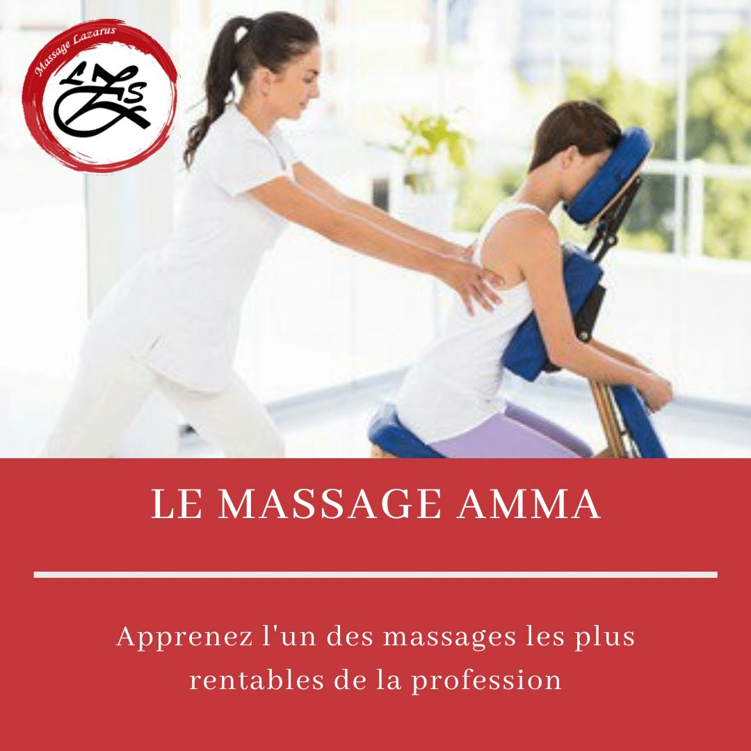 Formation massage amma